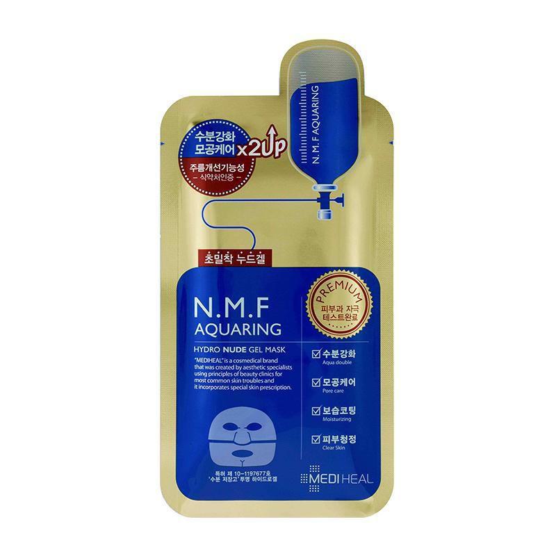Nude GEL Mask Mediheal N.m.f Aquaring Hydro 10pcs for sale