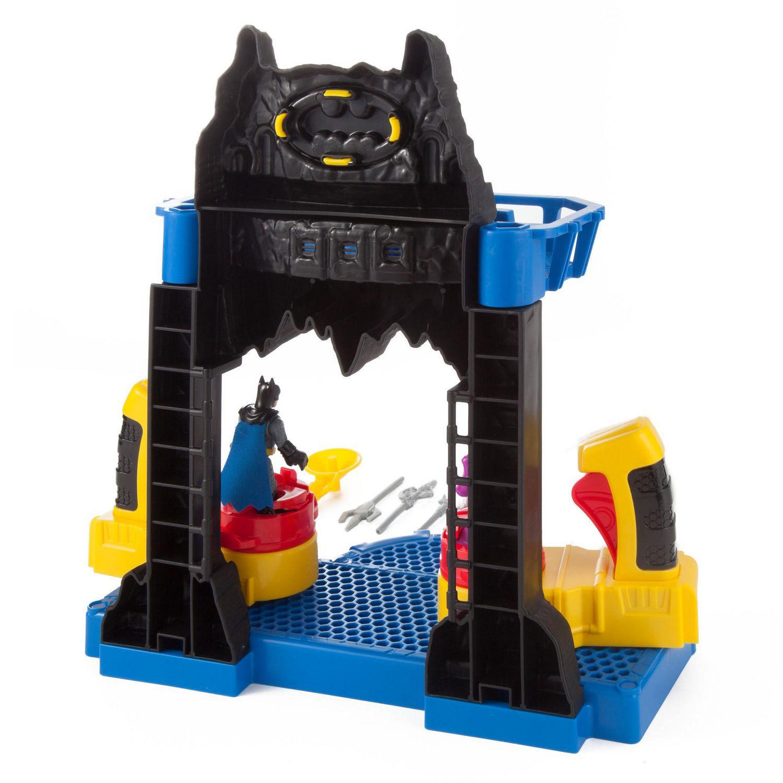 4 autres pieces Imaginext FKW12 bataille bat cave avec Batman Joker figures