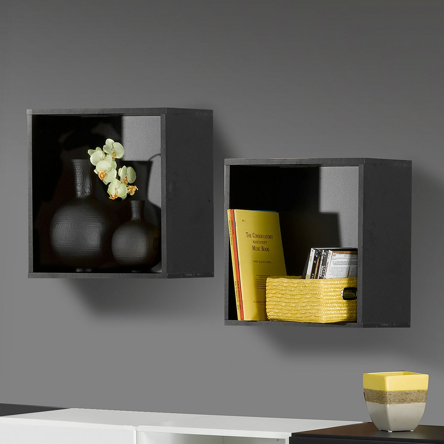 Nexera avenue decorative wall cubes walmart canada amipublicfo Image collections