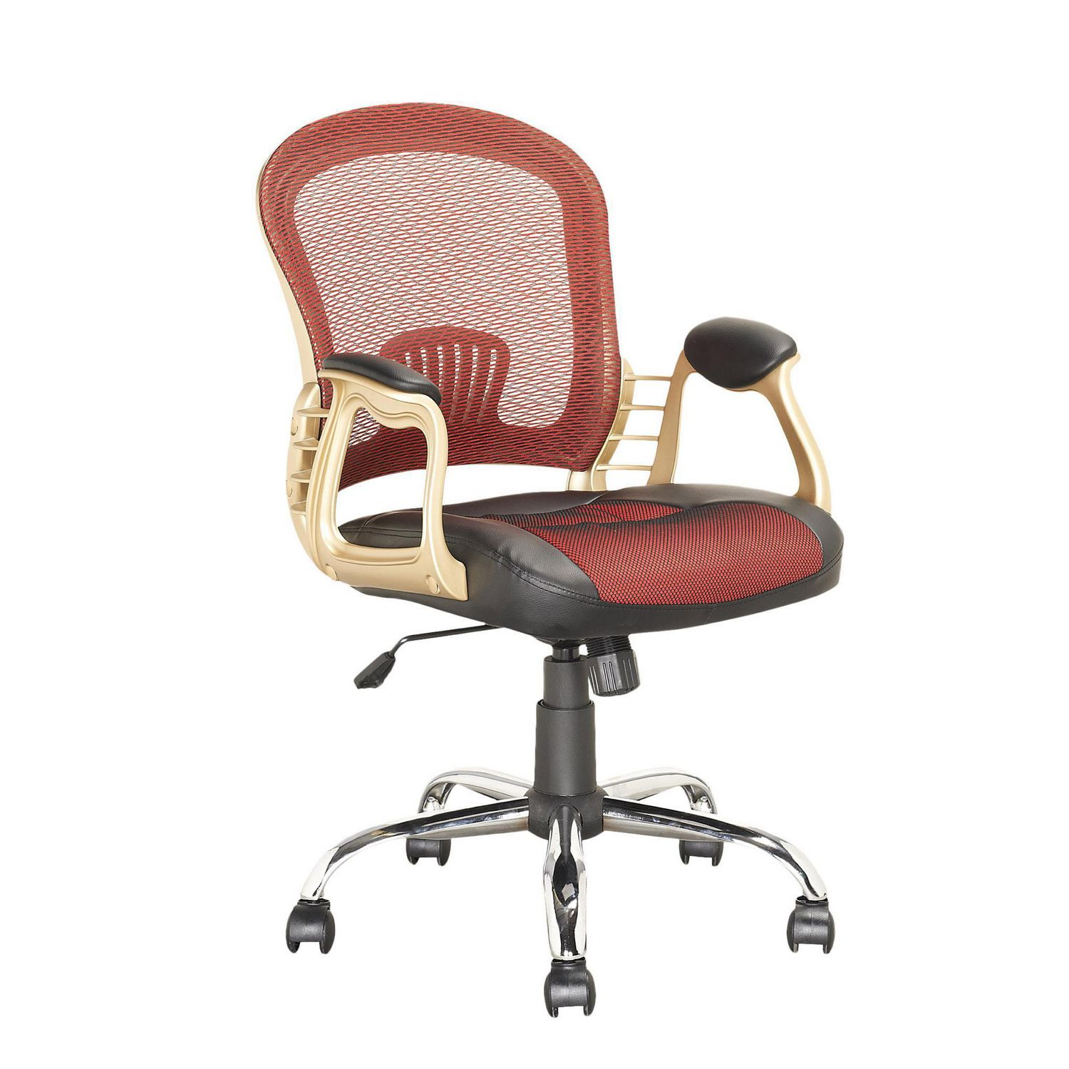 CorLiving LOF 258 O Executive fice Chair in Black Leatherette and