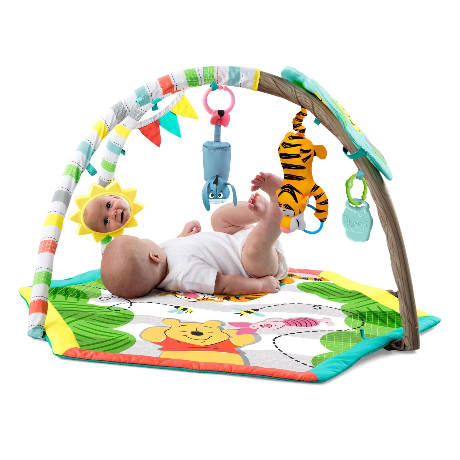 Disney Baby s Winnie the Pooh Happy As Can Be Activity Gym