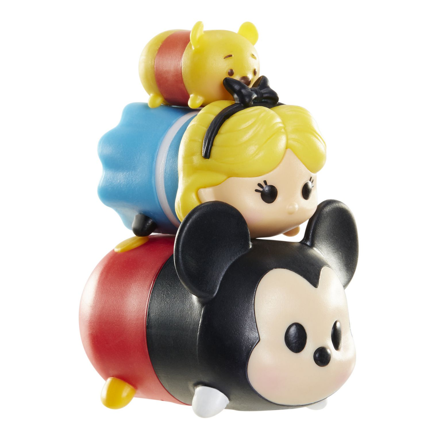 Alice and Pooh NEW Disney Tsum Tsum 3 Pack Series 1 Figures Mickey Mouse