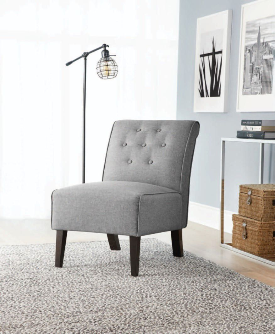 hometrends Rolled Slipper Chair | Walmart Canada