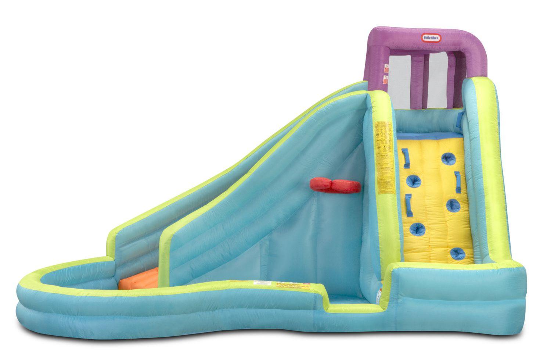 little tikes outdoor inflatables slam u0027n u0027 curve water slide