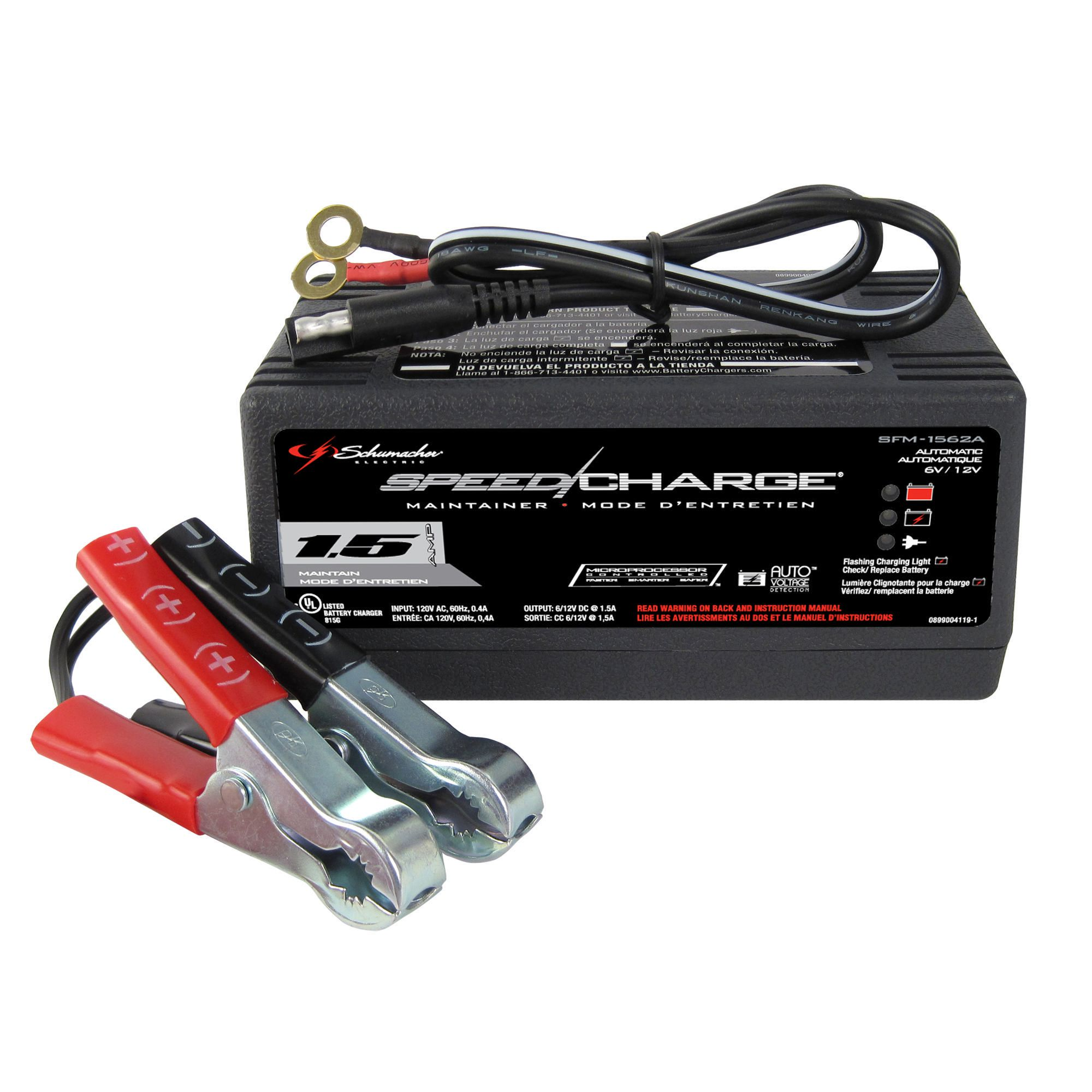 Schumacher Electric 1 5 Amp Battery Maintainer