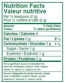Truvia Nutrition Data | Besto Blog
