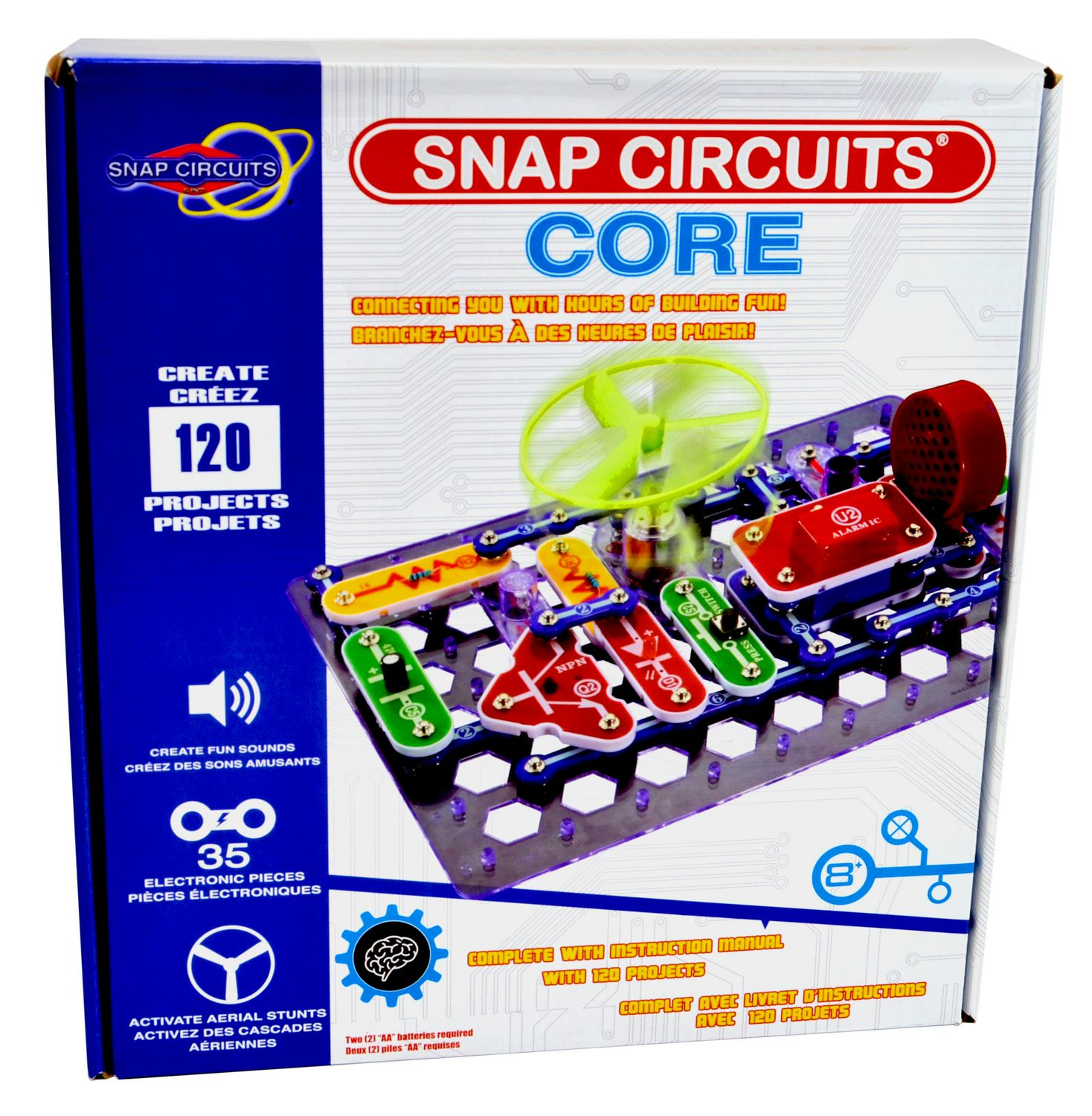 Snap Circuits Core Electrical Circuit Construction Toy Walmart Canada On