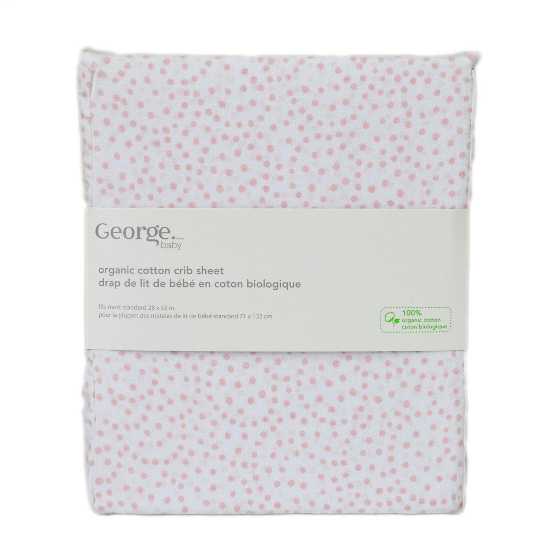Crib for sale vernon bc - George Baby Organic Cotton Crib Sheet