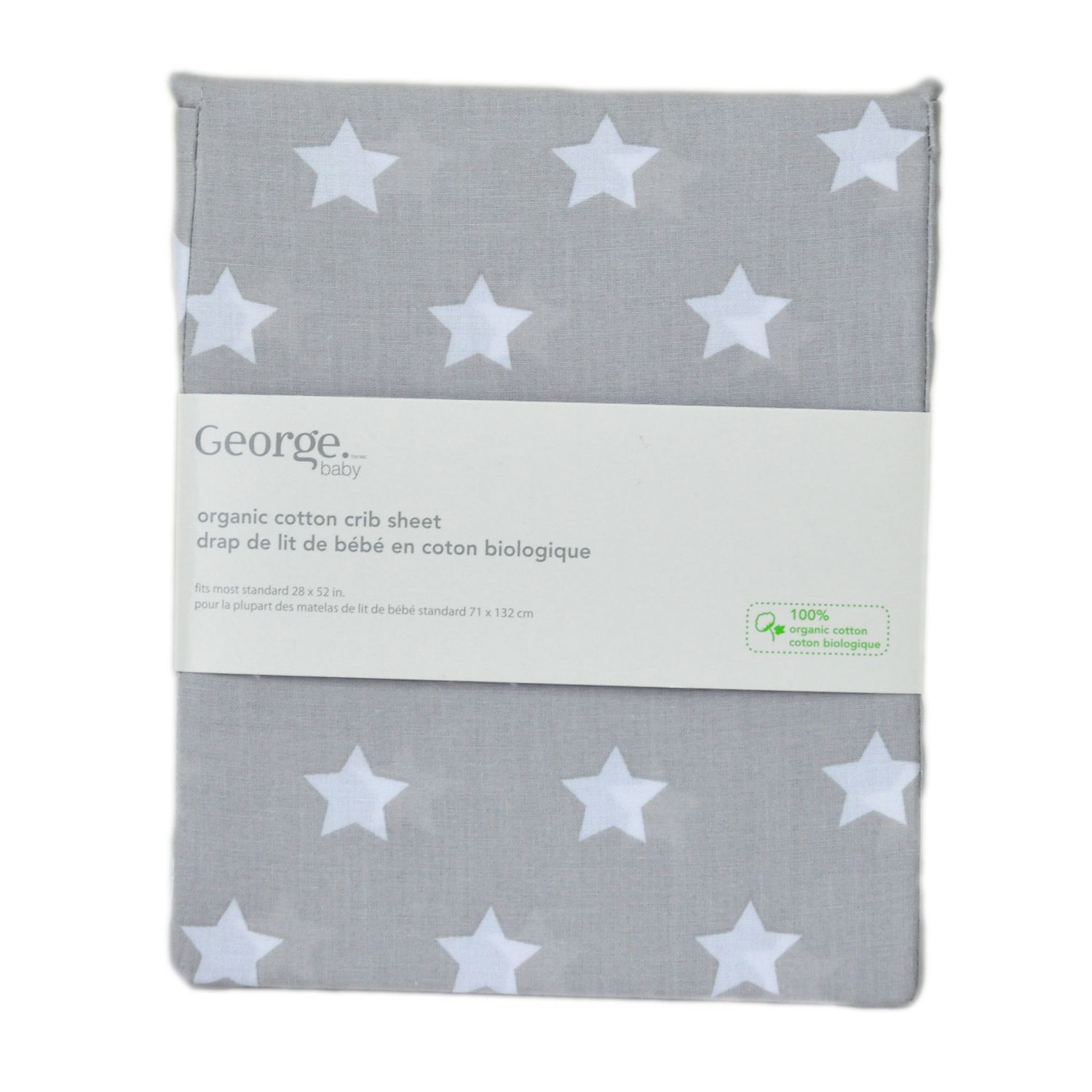Baby cribs london ontario - George Baby Organic Cotton Crib Sheet