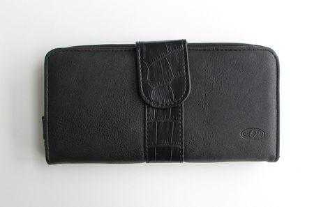 pochette portefeuille pour femmes d 39 antonio nicci clutch avec fermeture clair et fermeture. Black Bedroom Furniture Sets. Home Design Ideas