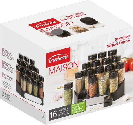 Support à épices de 16 bouteilles de Trudeau Maison - image 4 de 4
