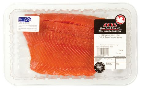 your fresh market wild sockeye salmon fillet walmart canada. Black Bedroom Furniture Sets. Home Design Ideas