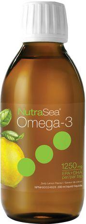 Liquide Omega 3 NutraSea de Nature's Way à saveur de citron - image 1 de 2