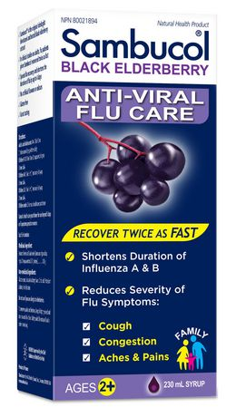 Sambucol Original Family Syrup Anti Viral Flu Care 230ml - image 1 of 1