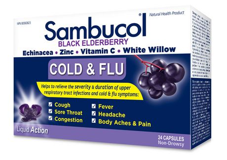 Sambucol  Cold And Flu 24ct - image 1 of 1