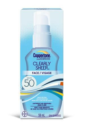 Coppertone Clearlysheer Spf 50 Face Sunscreen Lotion - image 1 of 1
