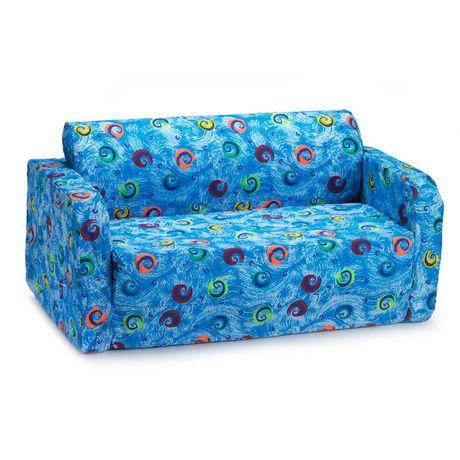 comfy kids flip sofa walmart canada. Black Bedroom Furniture Sets. Home Design Ideas