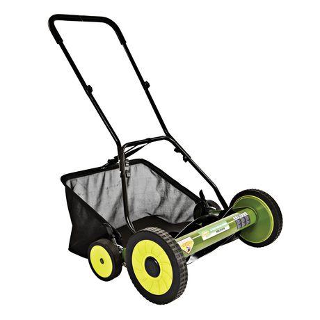 Sun Joe MJ502M Manual Reel Mower w/ Grass Catcher, 20 inch - image 1 of 6