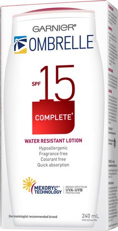 Garnier Ombrelle Complete Water Resistant Body Lotion - image 2 of 4