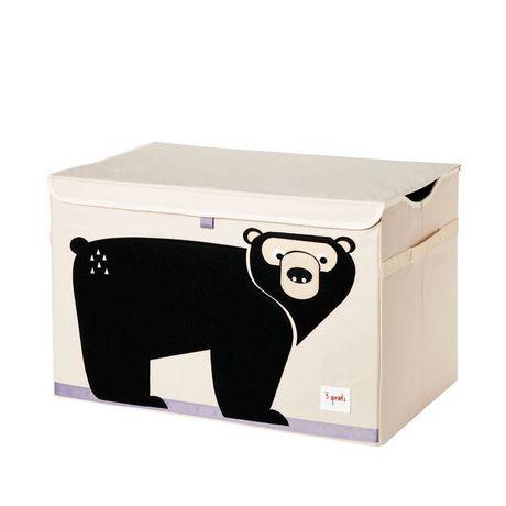 Coffre à jouets 3 Sprouts à motif d'ours - image 1 de 1