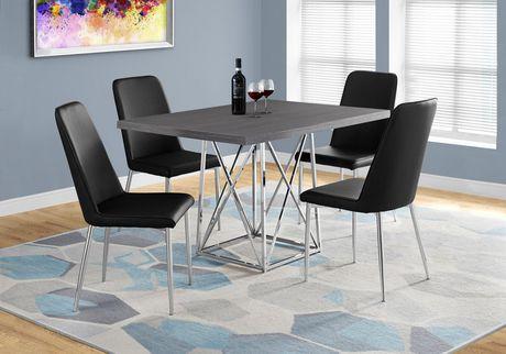 Monarch Specialties Grey Dining Table - image 1 of 3