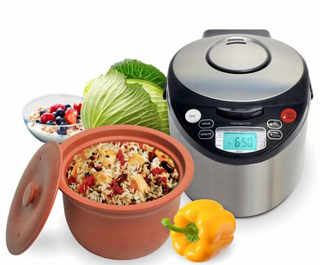 Vitaclay Smart Organic 8-Cup Multicooker with High-Fire Clay Pot - image 1 of 1