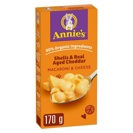 Annie's Homegrown Macaroni & Cheese Real Aged Cheddar Shells - image 1 of 4