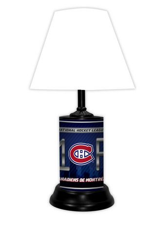 Gtei nhl montreal canadians table lamp walmart canada mozeypictures Gallery