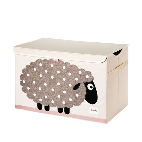 3 Sprouts Sheep Toy Chest - image 1 of 1