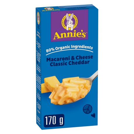 Annie's Homegrown Macaroni & Cheese Classic Cheddar - image 1 of 8