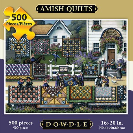 Dowdle Amish Quilts - 500 Piece - image 1 of 3