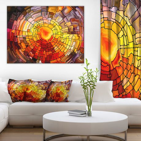 Design Art Return of Stained Glass Canvas Print - image 1 of 3