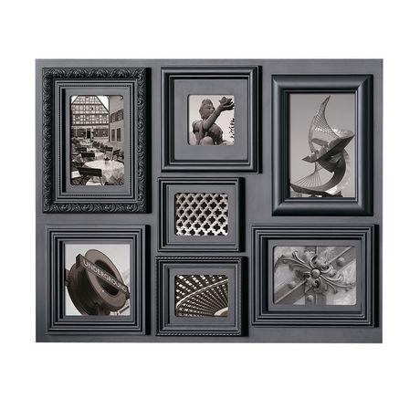 fuse 7 opening black collage frame