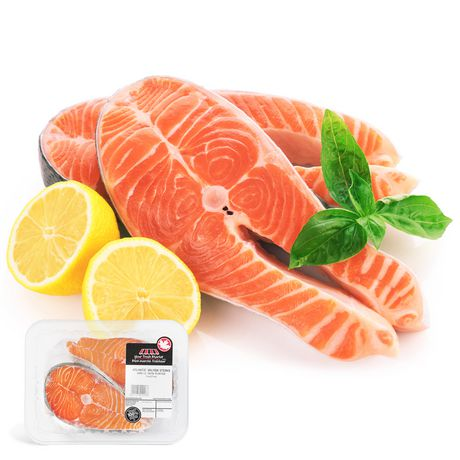 your fresh market atlantic salmon steaks walmart canada. Black Bedroom Furniture Sets. Home Design Ideas