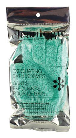 Clean Logic Gants exfoliants de bain et douche - image 1 de 1