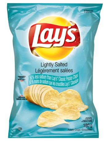 lays potato chips lay s lightly salted potato chips walmart canada 28794