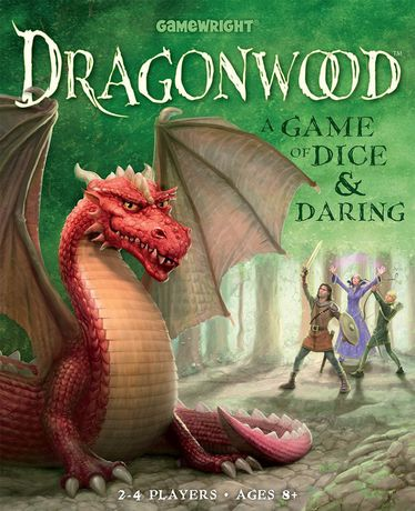 Gamewright  Dragonwood A Game of Dice & Daring Board Game - English Only