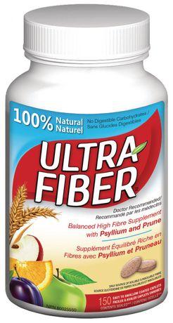 Ultra Fiber Balanced High Fibre Supplement Caplets - image 1 of 1