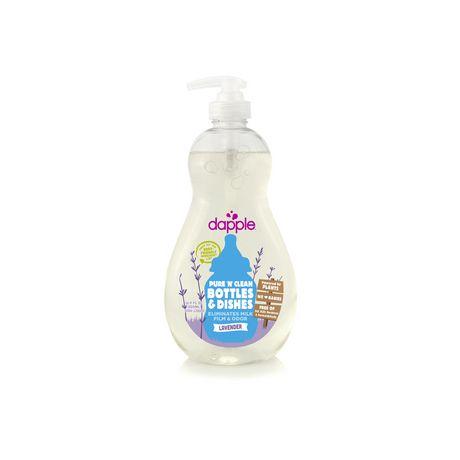 Liquide pour biberons et plats pour bébé Dapple®, lavande 16,9 oz / 500 ml - image 1 de 2