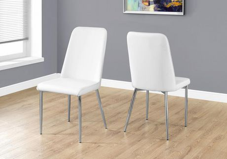 Monarch Specialties White Dining Chairs Image