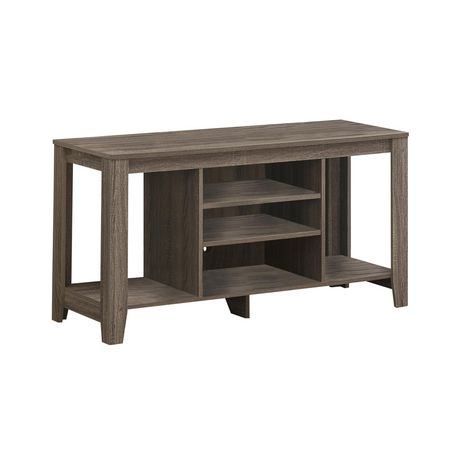 """Monarch Specialties TV Stand - Dark Taupe, 48""""L - image 1 of 2"""