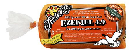 Food For Life Ezekiel 4 9 100 Sprouted Whole Grain Loaf
