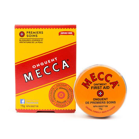 Mecca Ointment for minor wounds & skin irritations 15g