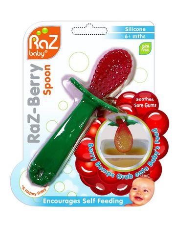 RaZbaby RaZ-Berry Silicone Spoon - image 1 of 6