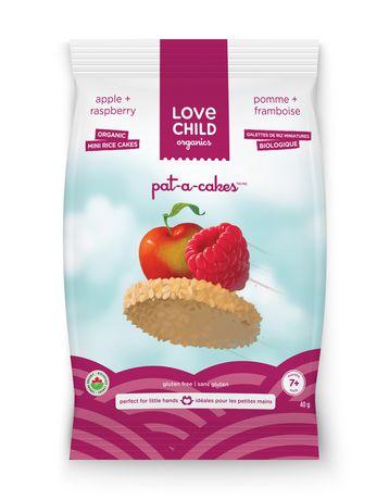 Love Child Organics Pat-A-Cakes  Pomme & Framboise - image 1 de 1