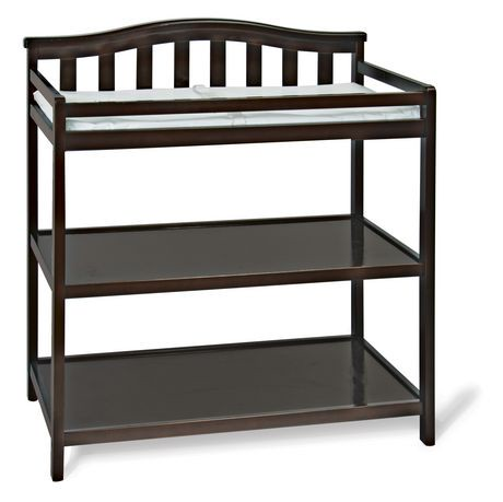 walnut leander inc kids in products changing table lusso chocolate l tulip
