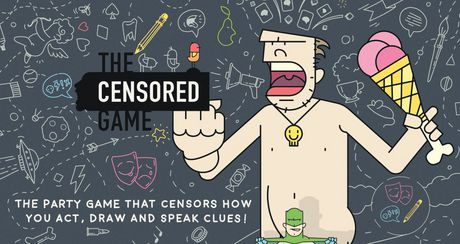 Jeu de fête « Censored Game » de Buffalo Games - image 1 de 1
