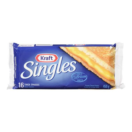 Kraft Singles Thick Slices - image 1 of 4