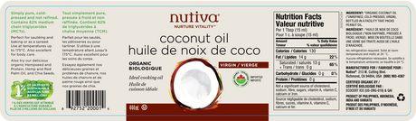 Nutiva - Huile de noix de coco biologique - image 2 de 2