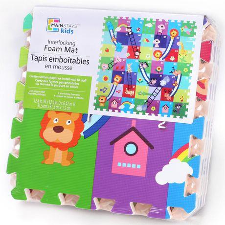 Mainstays Kids Interlocking Foam Mat Walmart Canada